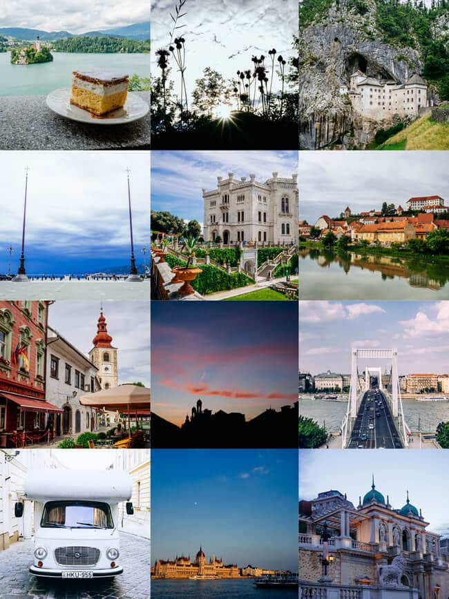 On Instagram – Budapest, Castles and Cake