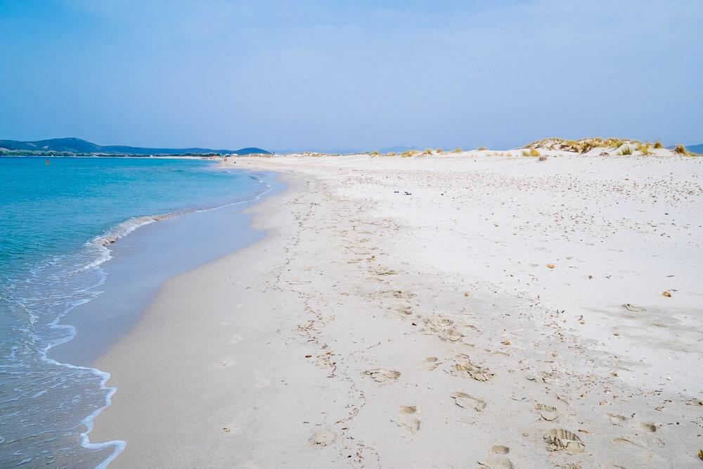 Porto Pino Beach Italy