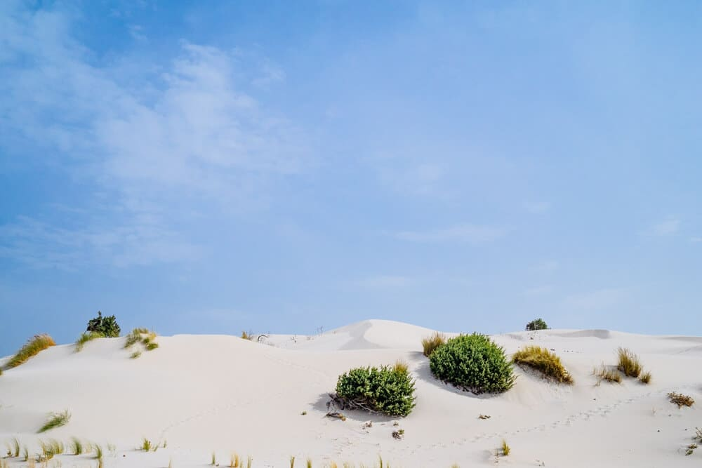 Sardinia White Sand Dunes