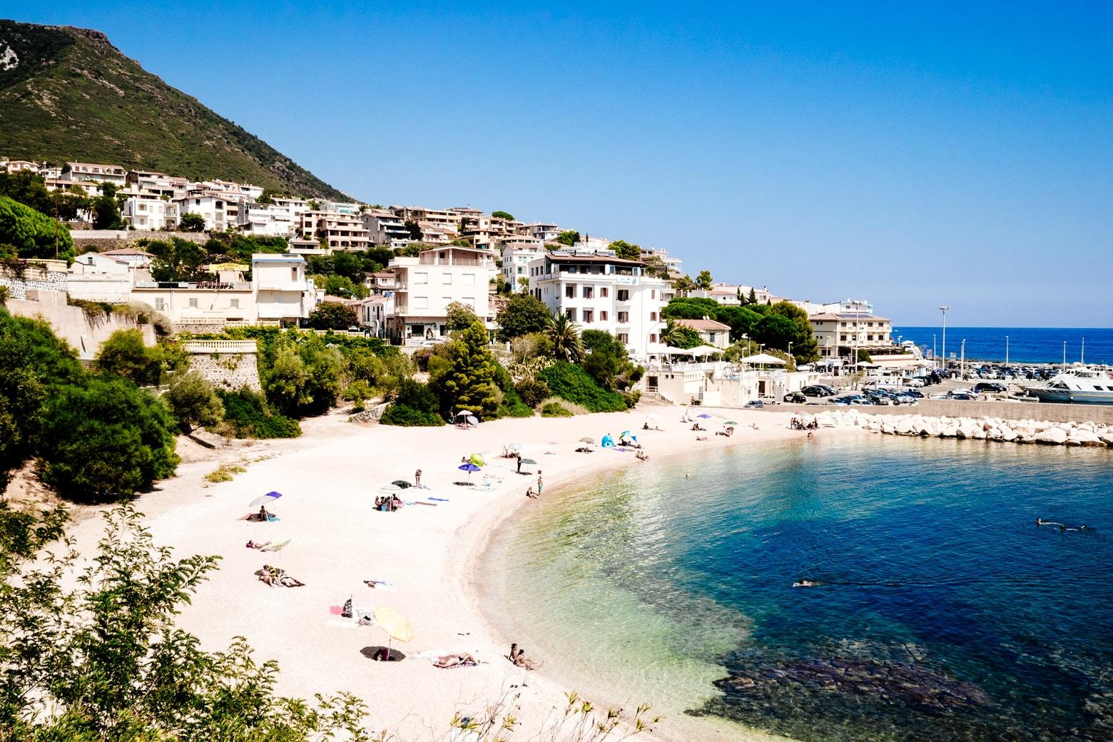 Cala Gonone Town Beach