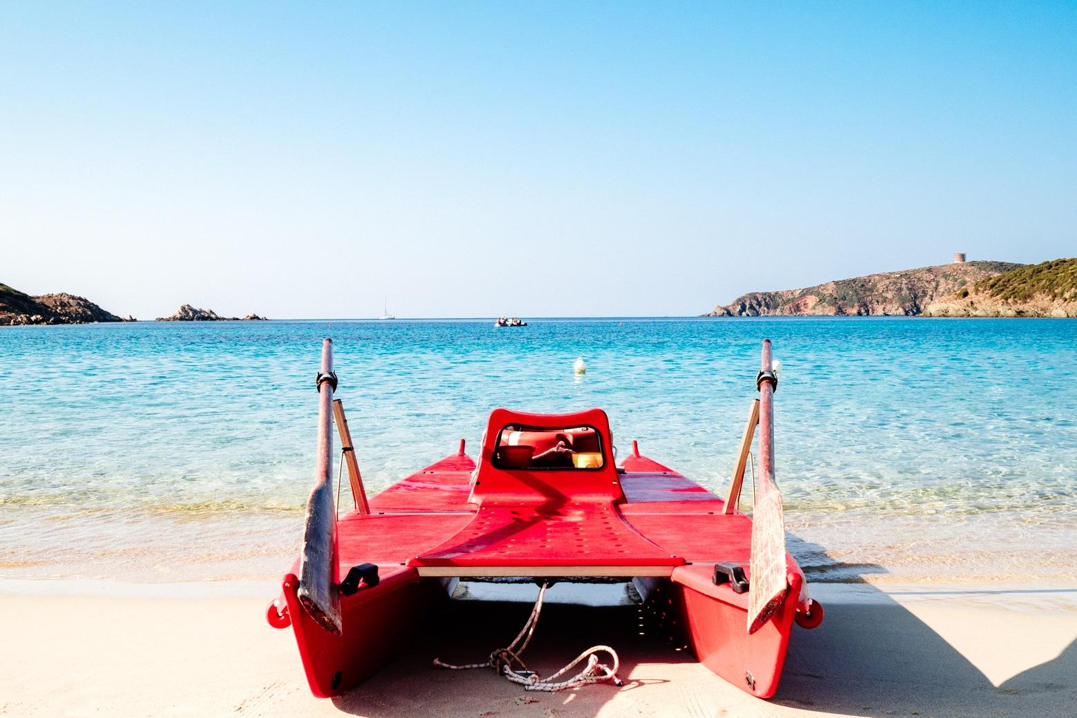 Tuerredda Red Paddle Boat