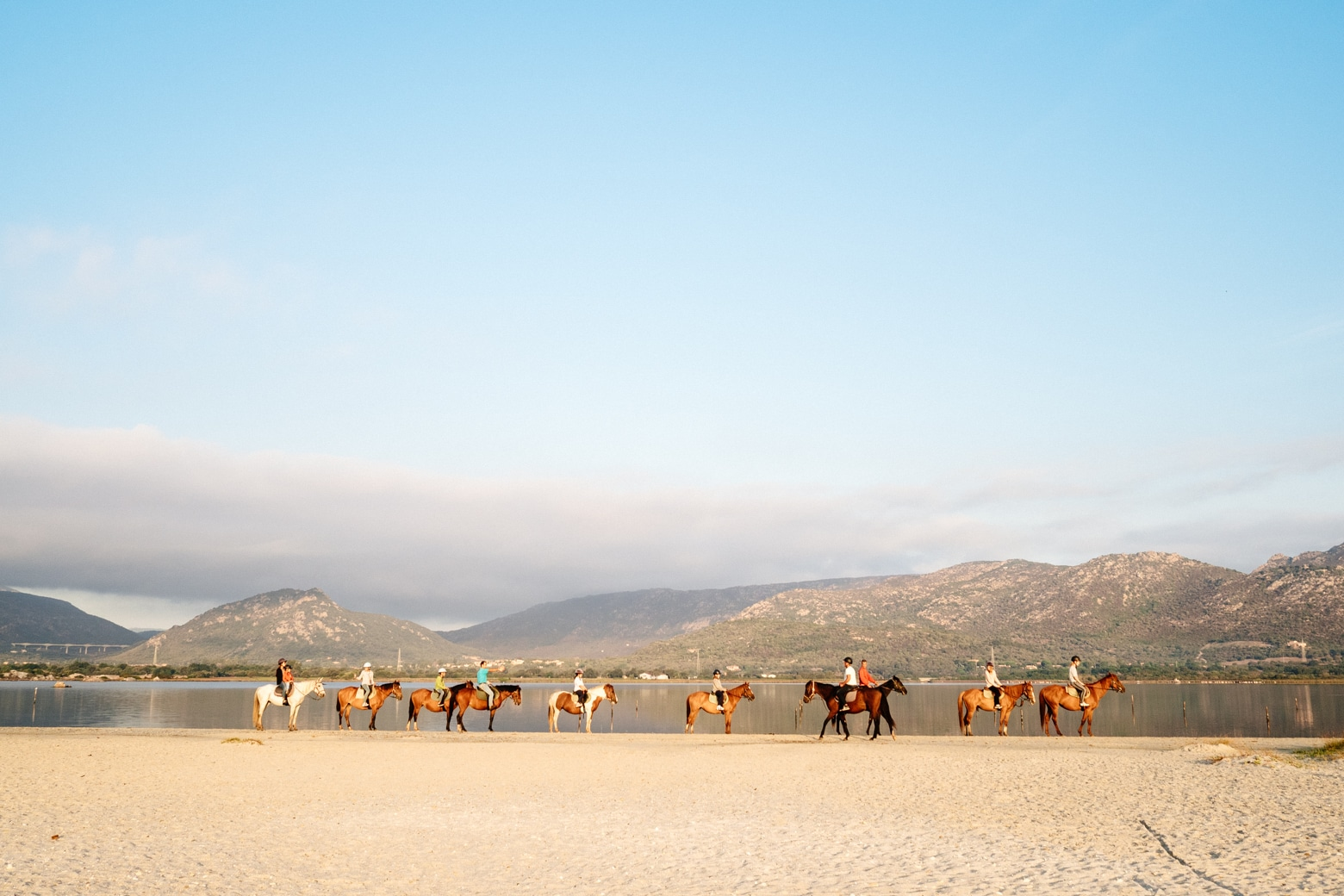 Beach Horse Riding at La Cinta
