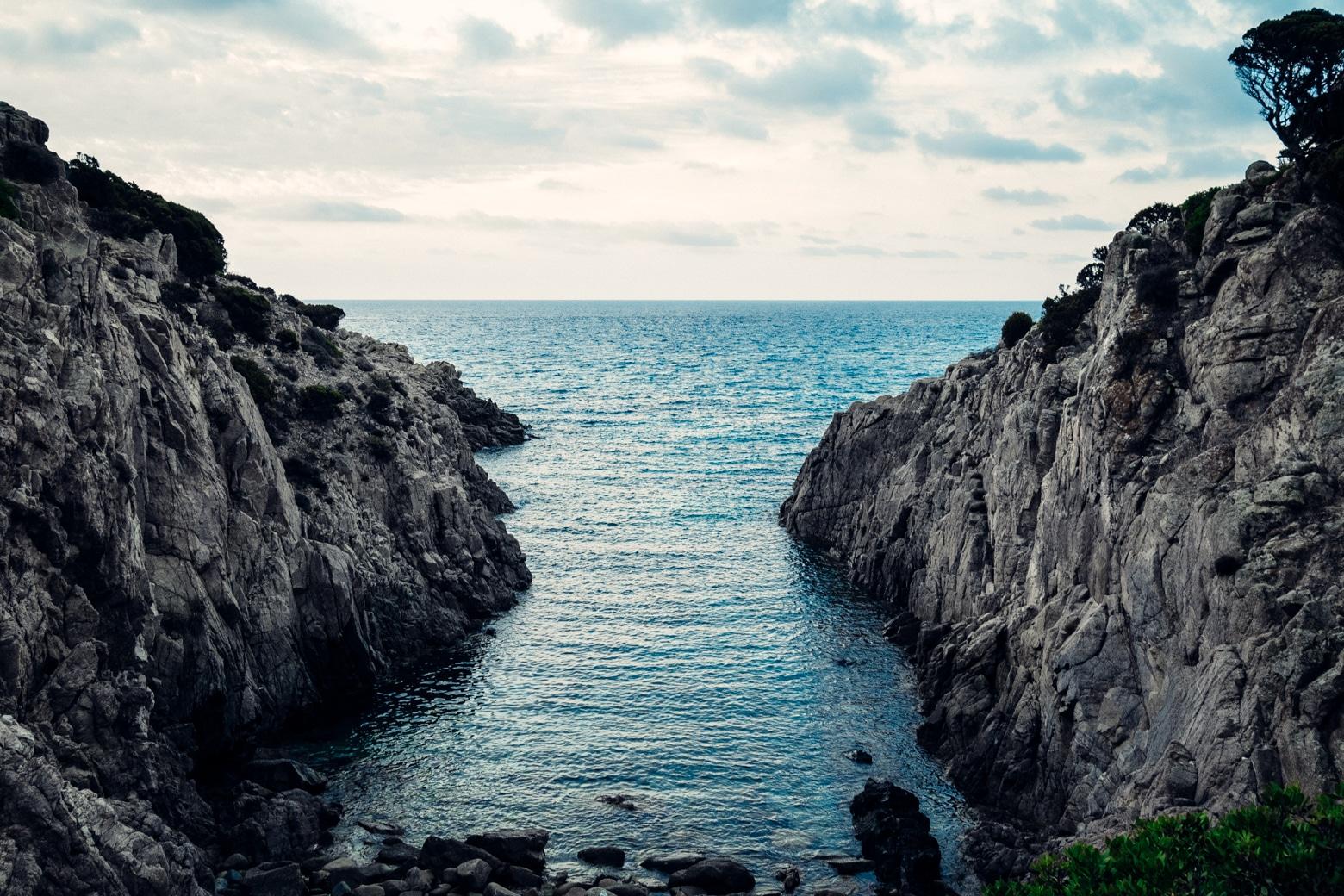 Stunning Rocky Coastline in Chia