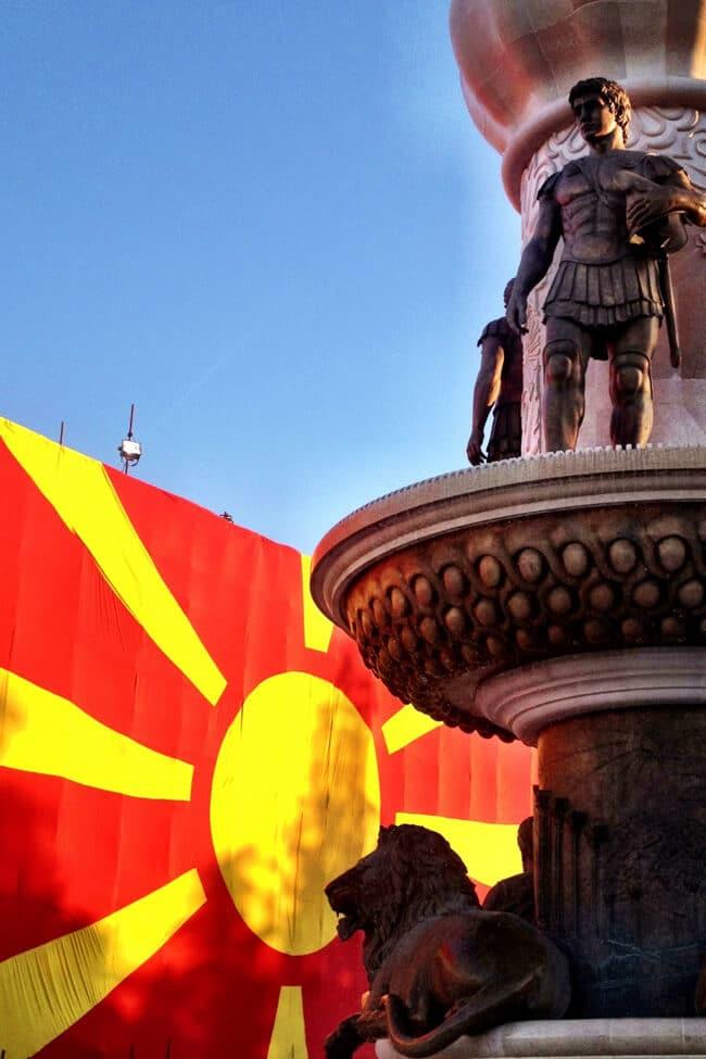 Visiting Skopje in Macedonia
