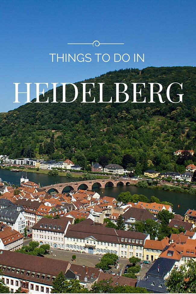 Things to do in Heidelberg