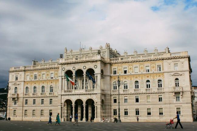 Main Piazza in Trieste