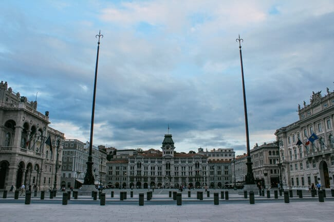 Piazza dell'Unita d'Italia Trieste