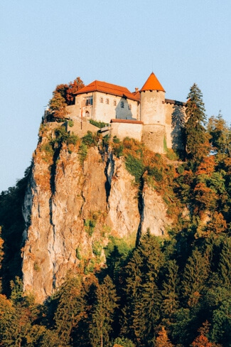 Bled Castle on the Cliff