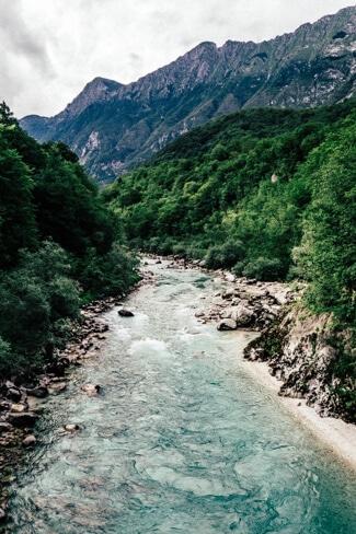 The stunning Soca Valley
