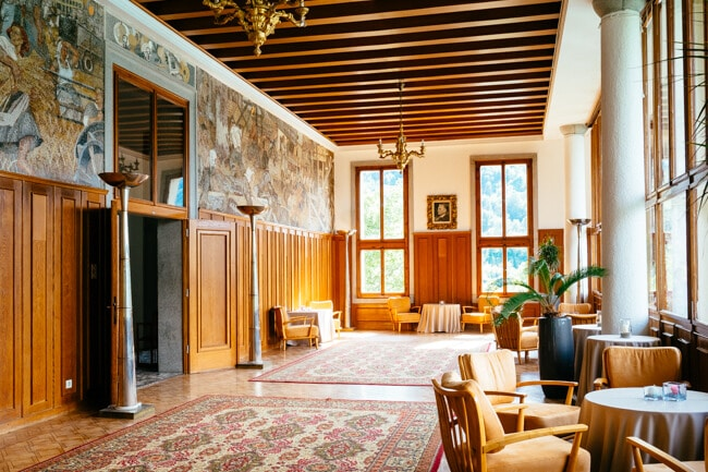 Inside Tito's Villa on Lake Bled