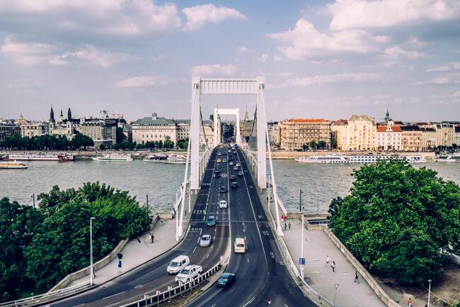 Liberty Bridge over the Danube