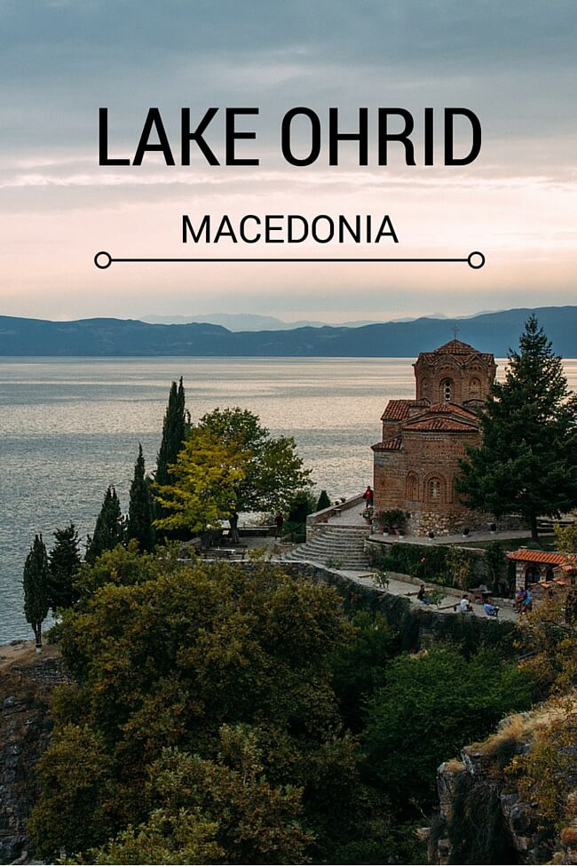 Church of St John at Kaneo - Lake Ohrid Macedonia