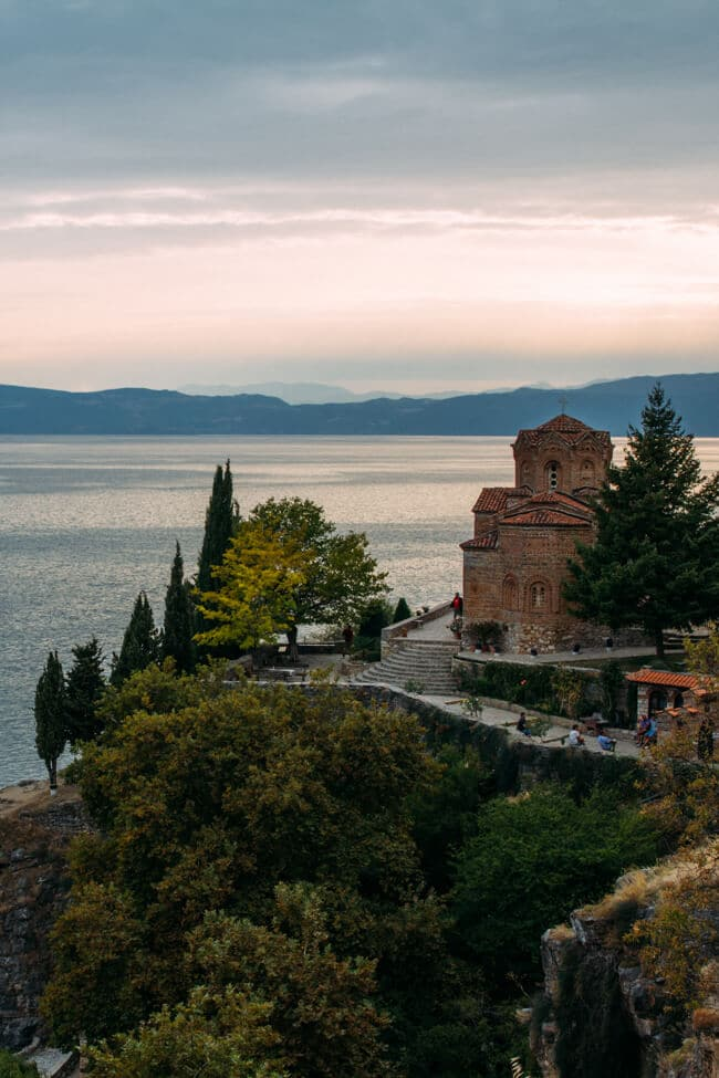 Visiting Lake Ohrid in Macedonia