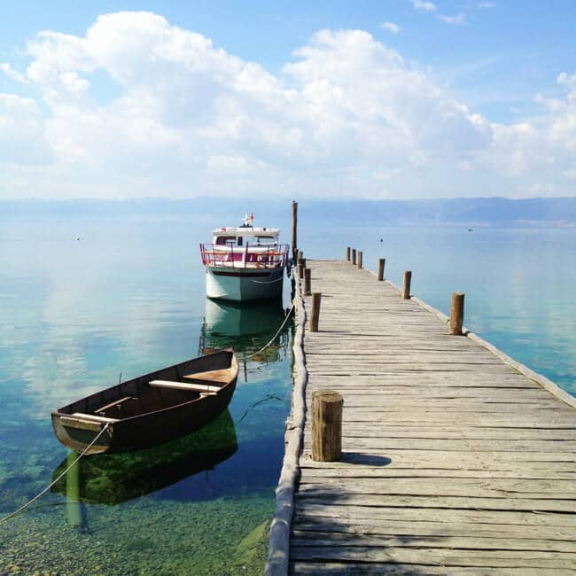 Scenes from Lake Ohrid