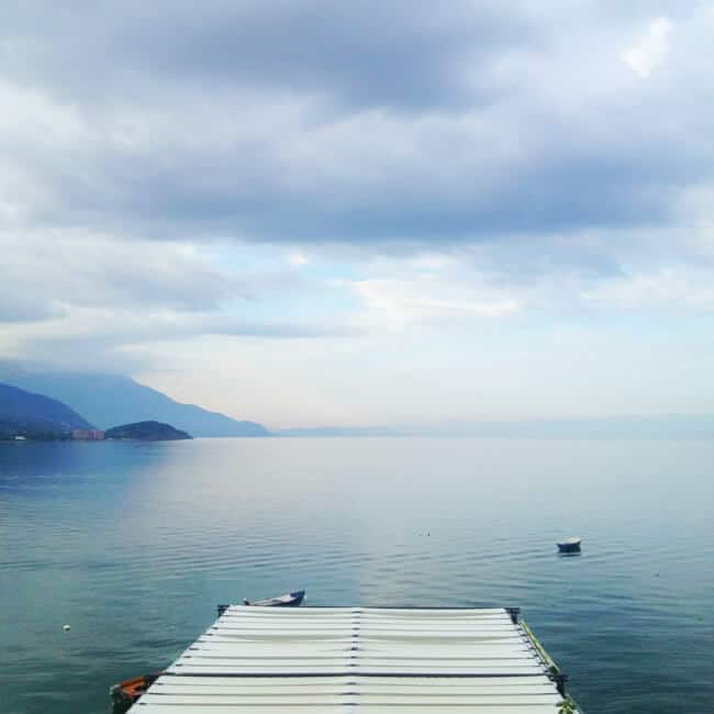 Peaceful Morning on Lake Ohrid
