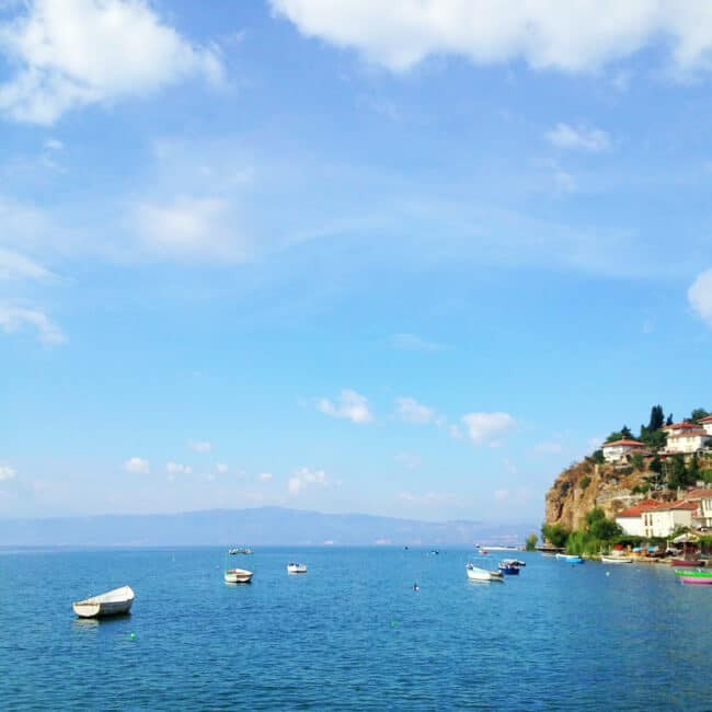 Lake Ohrid Macedonia