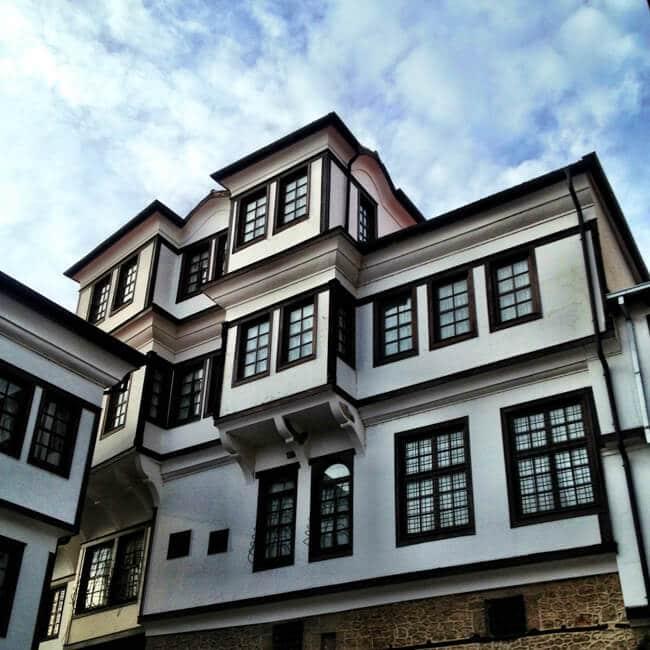 Original Ottoman Building in Ohrid Macedonia
