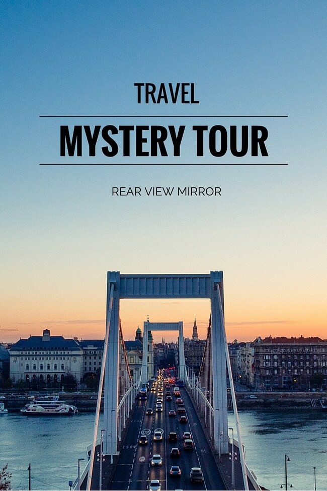December Travel Plans: Mystery Tour