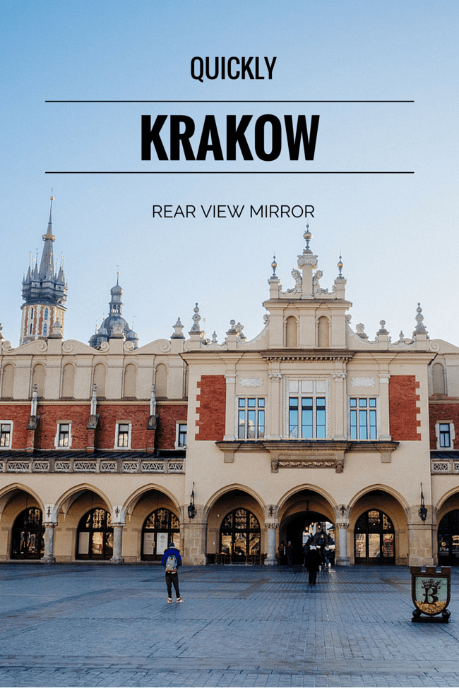 Quickly Krakow: Rear View Mirror Mystery Tour
