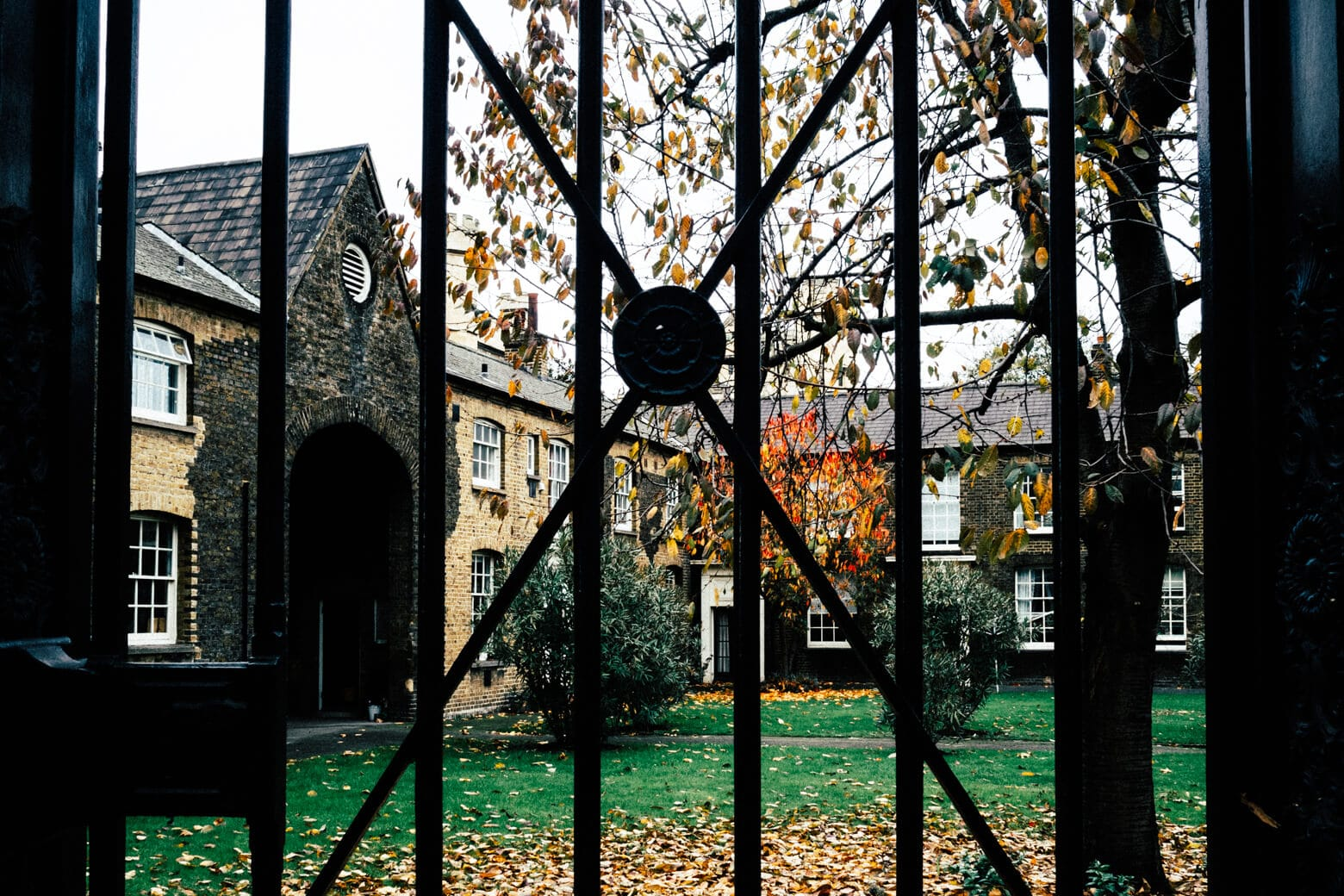 Private Courtyard at Lambeth Palace Gardens