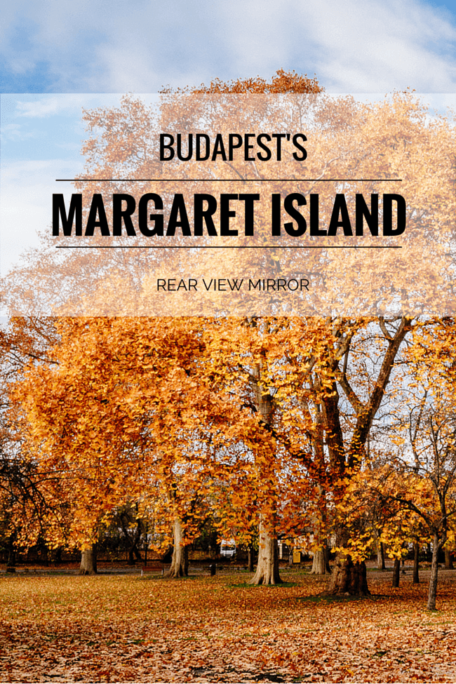 Autumn Colours: Margaret Island in Budapest