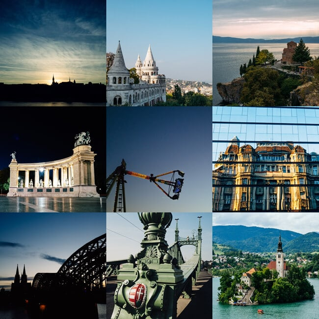 On Instagram: Bled, Cologne, Ohrid and Budapest