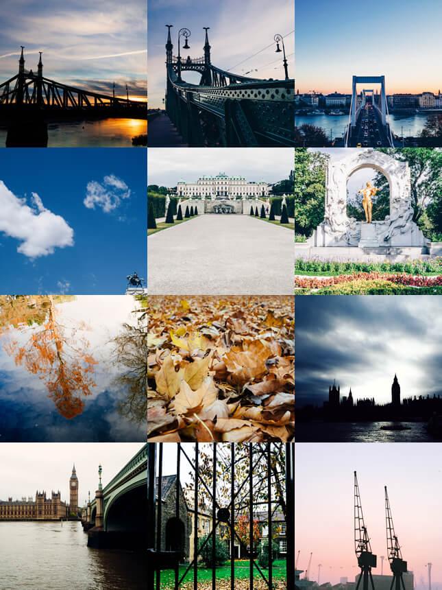 Recently On Instagram: London Vienna Budapest