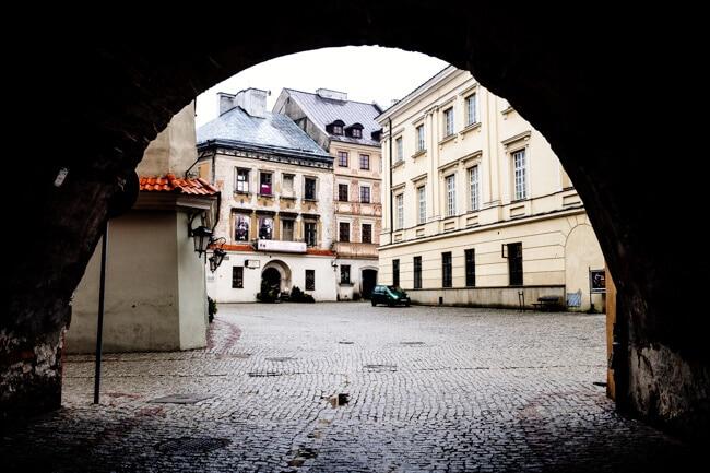 Lublin's Main Square