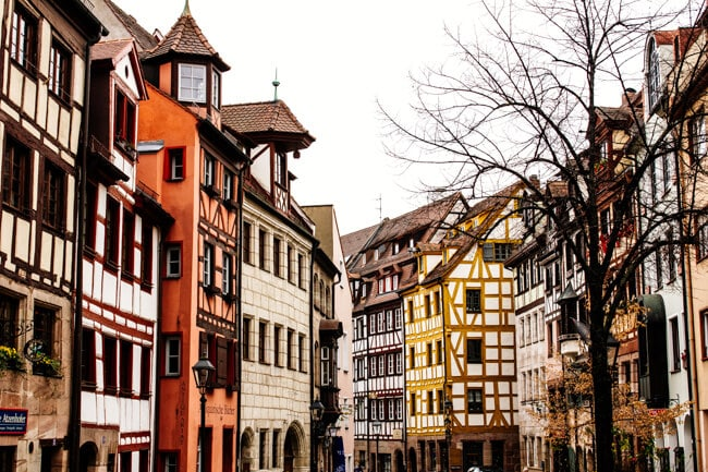 Nuremberg Half Timbered Houses
