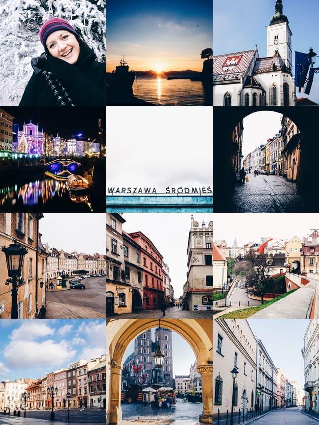On Instagram: Poland, Slovenia and Croatia