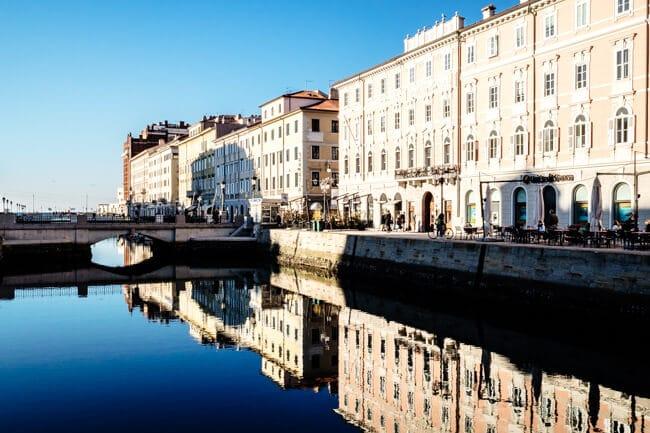 Trieste Canale Grande 2015
