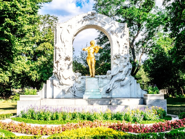 City Park Vienna Austria