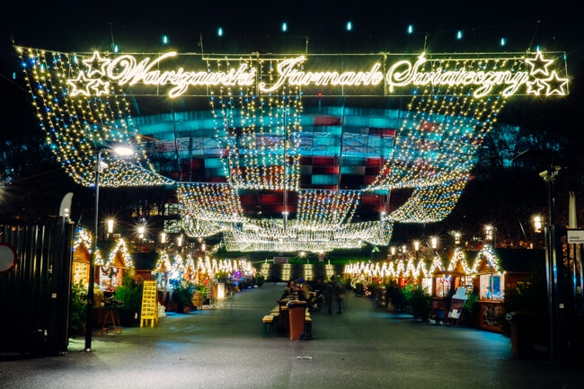 Warsaw Christmas Market in Praga