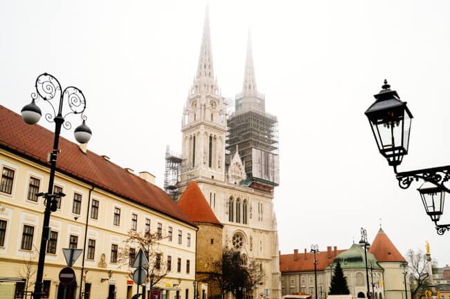 Kaptol in Zagreb's Upper Town