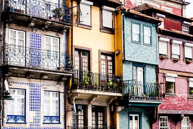 Typical Porto Scene