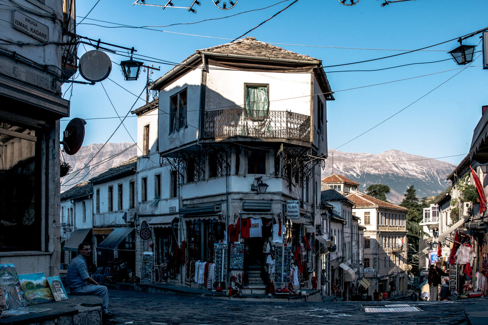 Streets of Gjirokastra