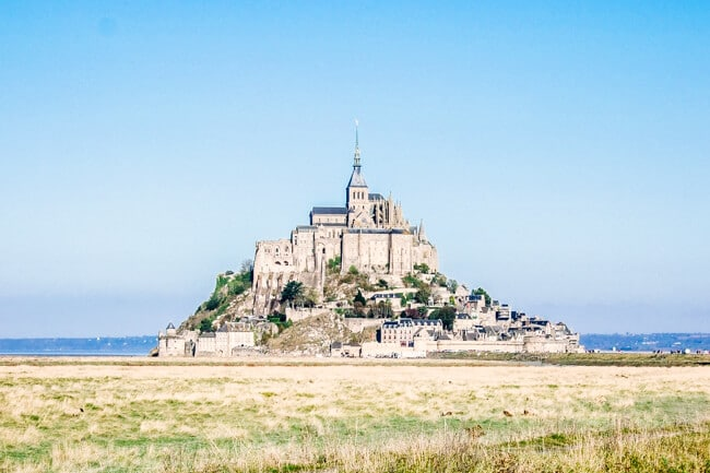 Mont Saint Michel Normandy, France