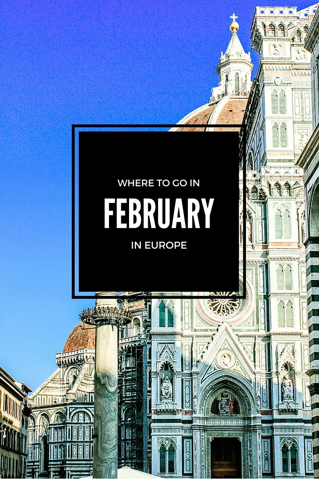 Where to Go in February in Europe