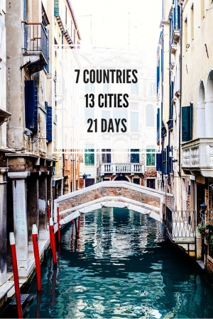 How to Visit 13 Cities in 7 Countries in 21 Days Without Burning Out