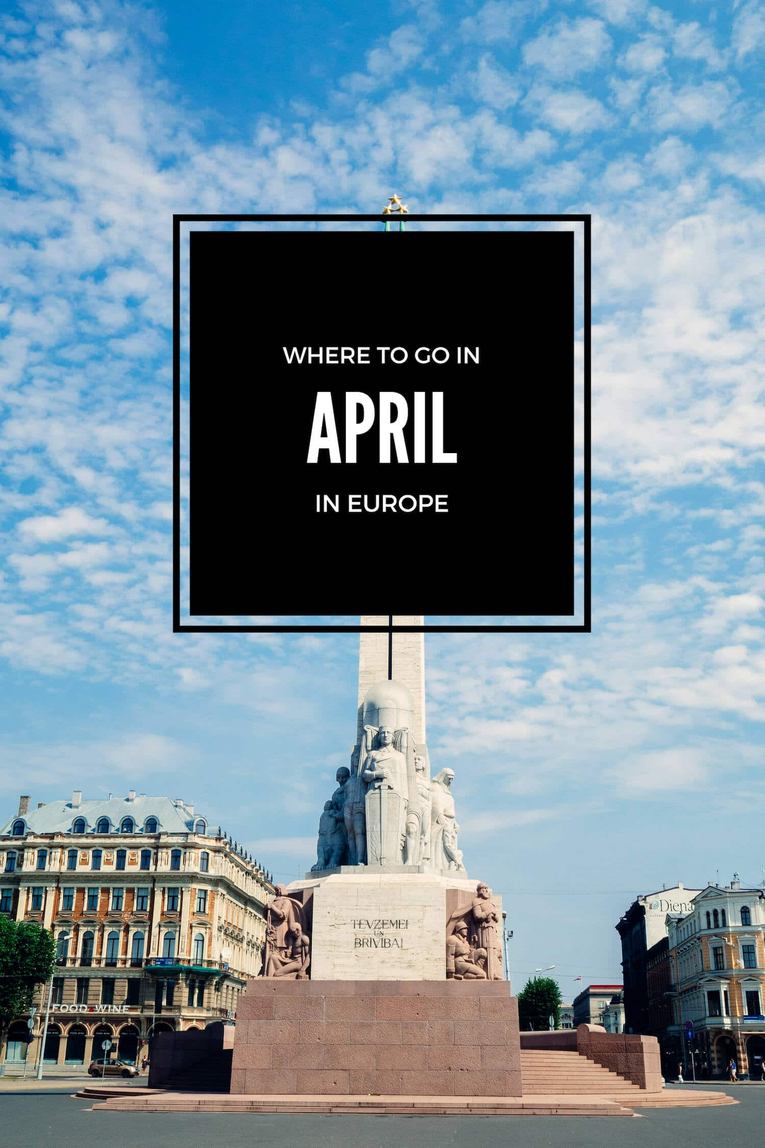 Best Places To Visit In Europe In April Spring Travel Destinations
