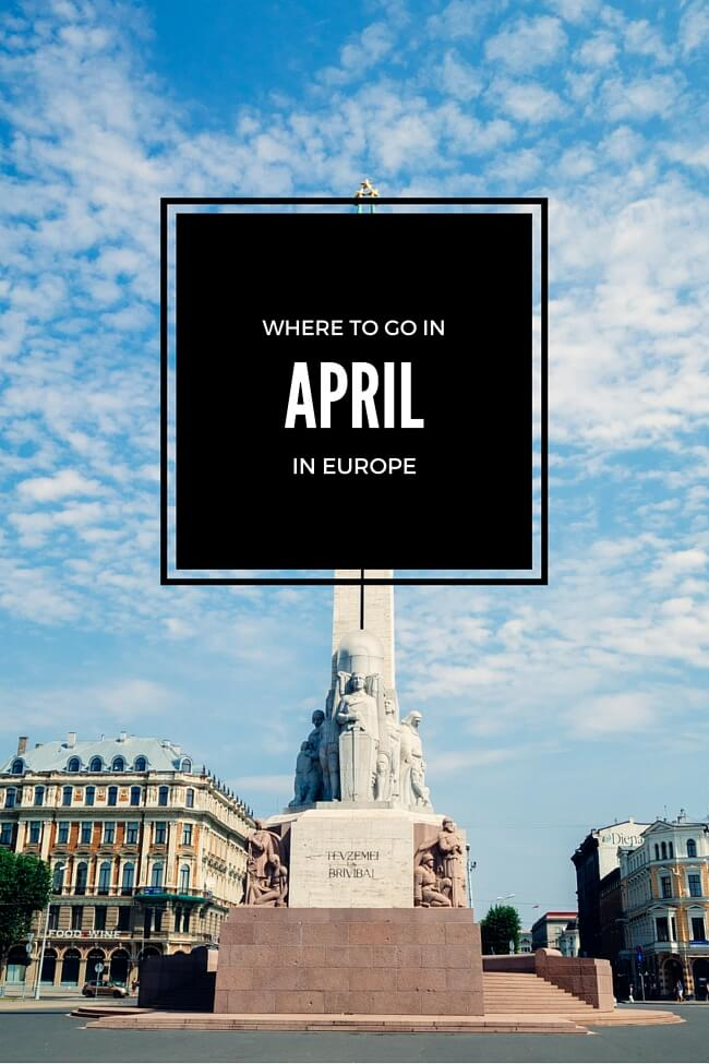 Where to Go in April in Europe