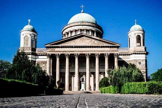 Esztergom Basilica at Szent Istvan Ter