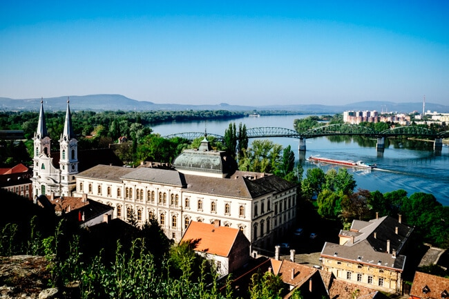 From Esztergom to Sturovo