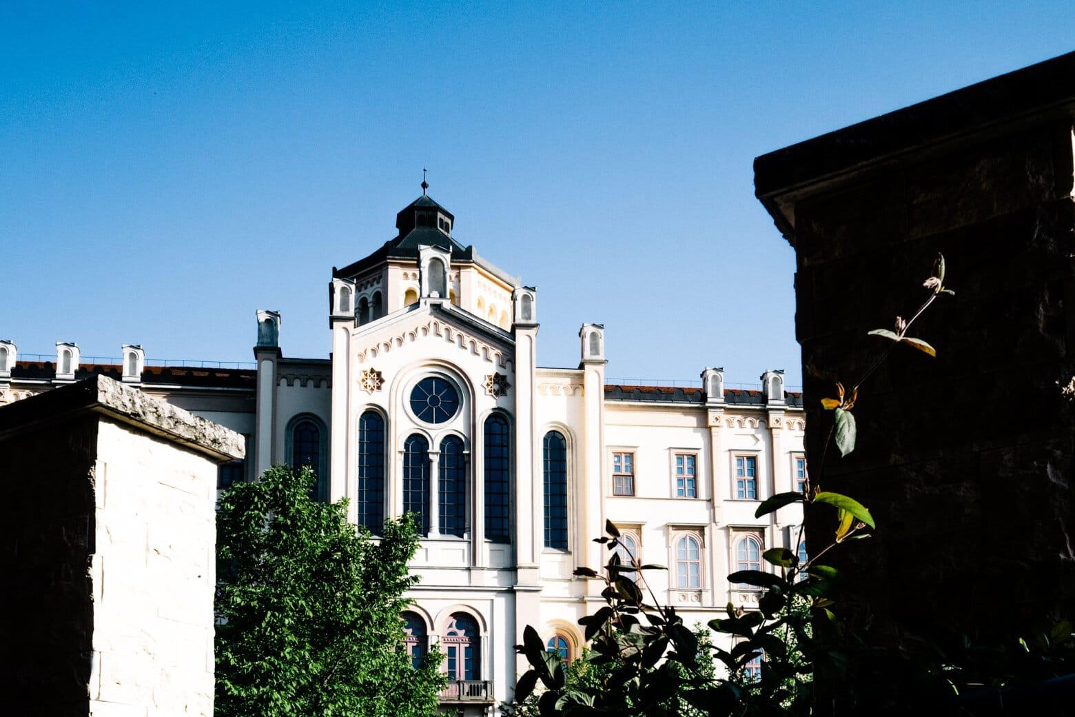 Esztergom Seminary from Szent Adalbert Hotel