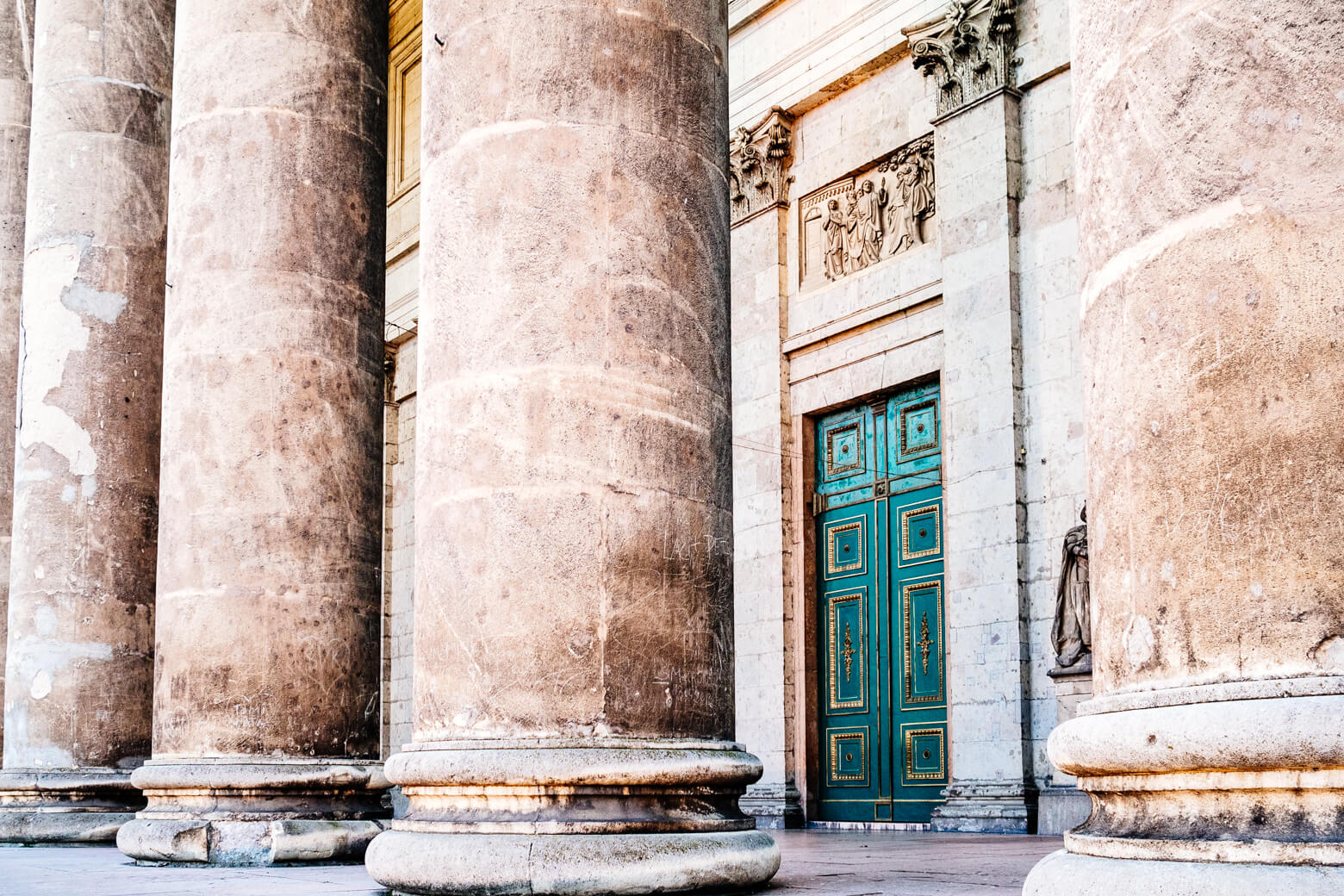 Marble Columns at Esztergom Basilica