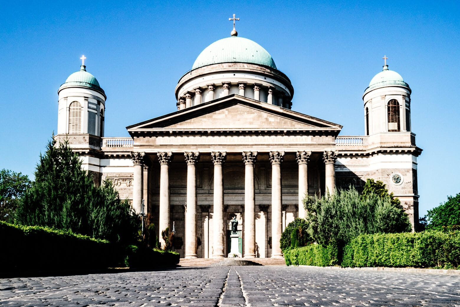 Esztergom Basilica at Szent Istvan Square