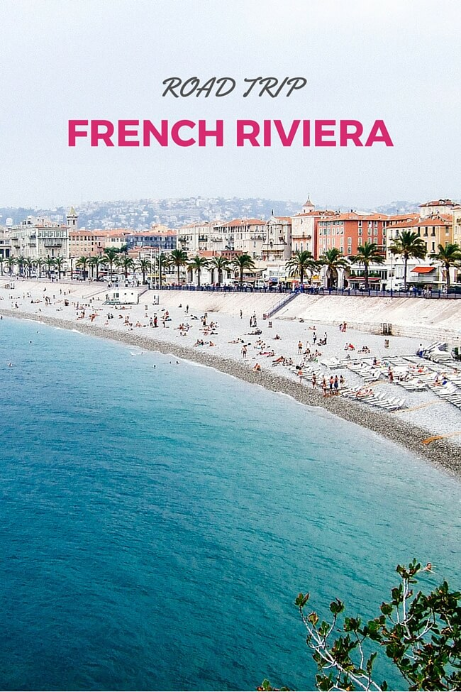 Map Of France French Riviera.French Riviera Road Trip 7 Day South Of France Itinerary