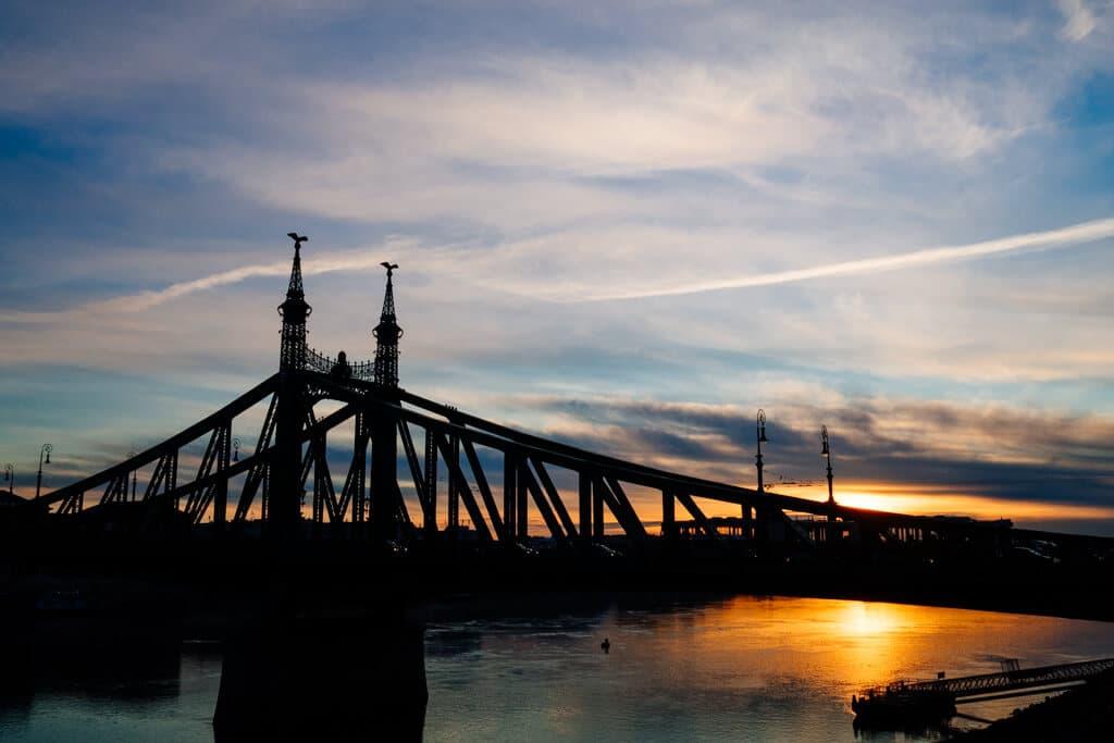 Liberty Bridge Sunrise
