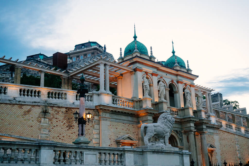 Buda Castle Terraced Gardens