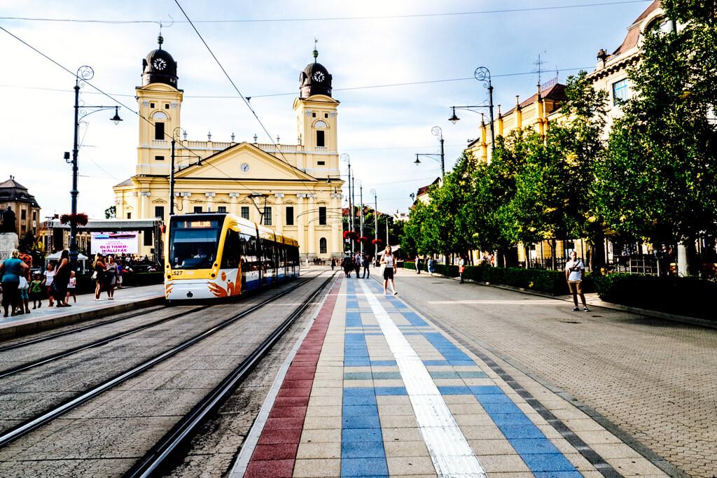 Debrecen Old Town and Tram